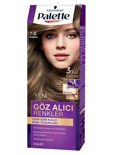 Palette Palette Yoğun Göz Alıcı Renkler Saç Boyası 7-0 Renkli